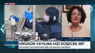 TRT canlı yayında olay açıklama: 'Türkiye'deki vaka sayısı 600 ila 900 bin'