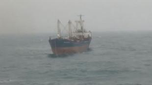 İstanbul'da korku dolu anlar! Yük gemisi böyle sürüklendi