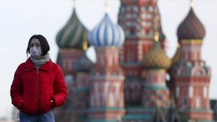 Rusya'da koronavirüs vaka sayısı artıyor