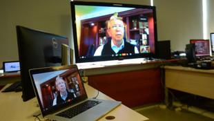 Mansur Yavaş, toplantıya video konferansla katıldı