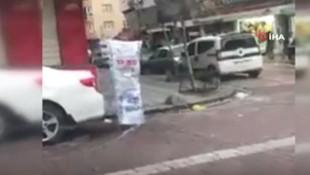 Zeytinburnu'nda koronavirüse karşı çuvallı önlem !