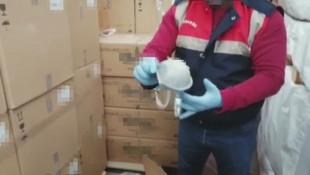 İstanbul'da milyonluk filtreli maske operasyonu