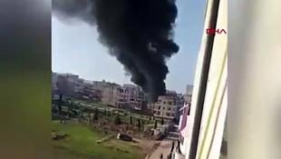 Afrin'de büyük patlama!