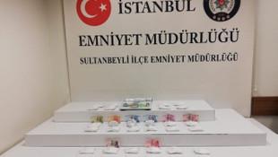 İstanbul'da 1.5 milyon liralık kokain yakalandı