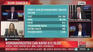 Ahmet Hakan'ın canlı yayındaki zor anları kamerada!