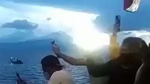 Feribotta koronavirüs dehşeti! Yolcular kendilerini denize attı