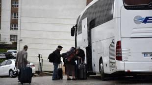 İngiltere'den getirilip karantinaya alınan 61 kişi evlerine gönderildi