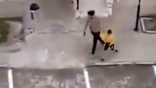 Mardin'de çocukları havaya ateş açarak kovalayan polis açığa alındı