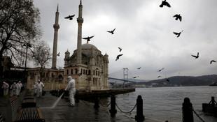 İngiliz gazete koronalı günlerde İstanbul'u böyle gördü