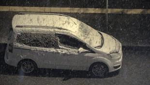 Mayıs ayında lapa lapa kar yağdı