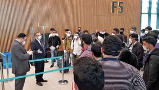 Türkiye'de bulunan 268 Pakistan vatandaşı ülkelerine gönderildi