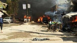 Afrin'de terör saldırısı: 2 sivil yaralandı
