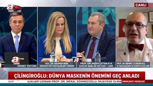 A Haber canlı yayınında ''Atatürk'' fırçası! Stüdyo buz kesti!