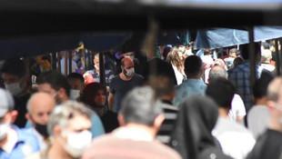 4 günlük yasak öncesi pazarlar doldu taştı