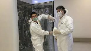 Türkiye'de koronavirüsü 30 saniyede öldüren cihaz ürettiler