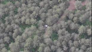 Ormanda piknik yaparken drone'a yakalandılar