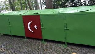 AK Partili belediyeye Türk Bayrağı tepkisi!