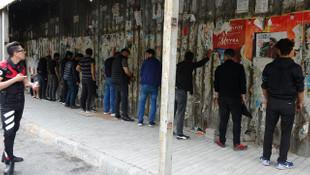 İstanbul'da inanılmaz görüntüler! Polis bile neye uğradığını şaşırdı