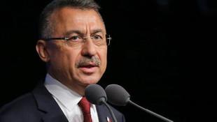 Cumhurbaşkanı Yardımcısı Fuat Oktay'dan şehit askerimiz için taziye
