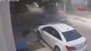 Libya'da Hafter sivilleri vurduğu anın görüntüleri