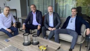 Galatasaraylı yöneticilerden Başkan Cengiz'e ziyaret