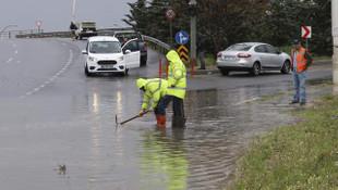 Ankara sağanak yağmura teslim