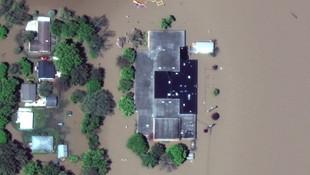 ABD'de son 500 yılın en büyük su baskını yaşanıyor
