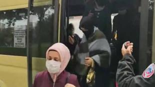 İstanbul'da yine skandal görüntüler