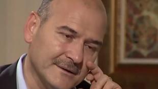 İçişleri Bakanı Soylu, canlı yayında gözyaşlarını tutamadı