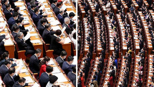 Çin'de skandal görüntüler! Sosyal mesafe hiçe sayıldı
