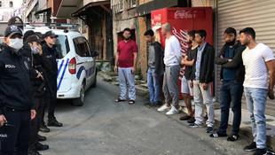 İstanbul'da yasak tanımayan 8 kişiye 25 bin 200 TL ceza
