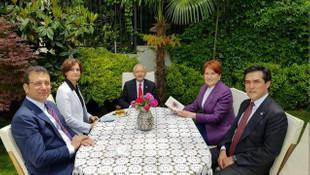 Liderler bayram buluşmasında Murat Ongun'un kitabını konuştu