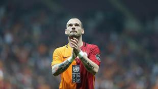 Galatasaray'dan Wesley Sneijder bombası!