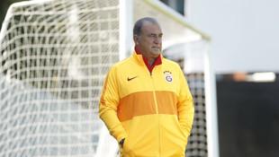 Galatasaray antremanda vites büyüttü