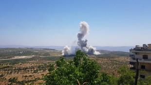 İdlib'de şiddetli patlama!