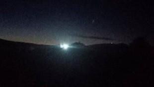 Tüm Türkiye bu görüntüleri konuşuyor: Türkiye'ye meteor düştü!