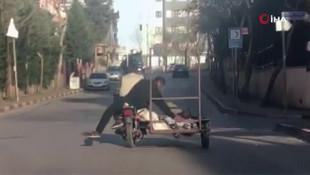 İstanbul'un göbeğinde pes dedirten yolculuk
