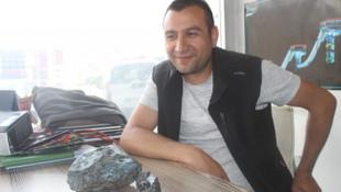 Türkiye'ye düşen gök taşı bulundu iddiası