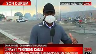 CNN International muhabiri Floyd cinayetinin işlendiği yerde anlattı