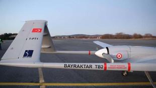 Türkiye'nin yerli İHA'sı Bayraktar-TB2'den Yunan sınırında manidar uçuş!