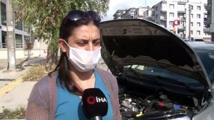 Sıfır otomobil alan kadın, ekspertiz raporunu görünce şok oldu!