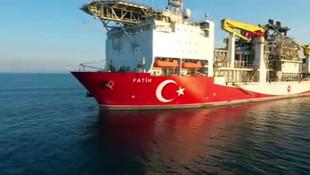 Fatih Sondaj gemisi boğaz geçişi