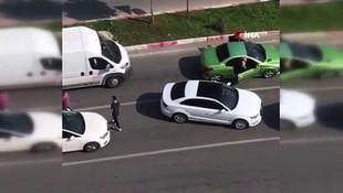 Trafikte sopalı saldırıya uğrayan kadınlar konuştu