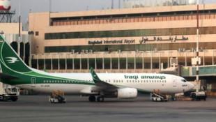 Bağdat Havalimanı yakınlarına 3 roket düştü