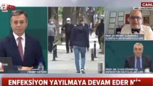A Haber'de olay var! Prof. Dr. Çilingiroğlu bombaladı, spiker çaresiz kaldı