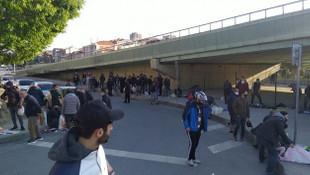 Sosyal mesafe yine unutuldu! İstanbul'da skandal görüntüler