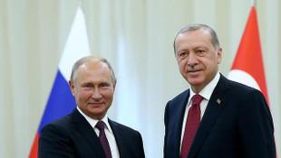 Cumhurbaşkanı Erdoğan'dan Putin'e ''Zafer Günü'' tebrik mesajı