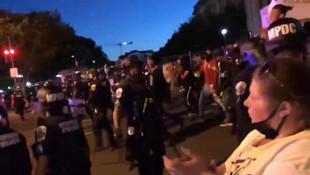 ABD'de siyah öfke: Sokakları savaş alanına çevirdiler