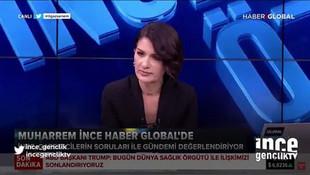 CHP'li Muharrem İnce, konuşması kesilince canlı yayını terk etti!