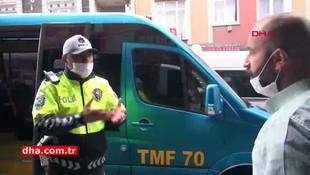 Tıklım tıkış koronavirüs minibüsünün şoförü kendini böyle savundu